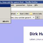 Systemmenü von Windows-Programmen - ALT-Space-n minimiert das Fenster